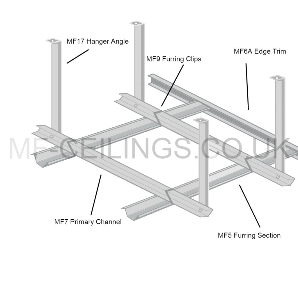 MF Ceiling Diagram