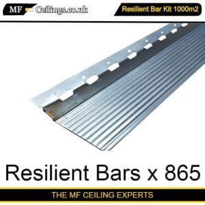 Resilient Bar Ceiling Kit 1000m2