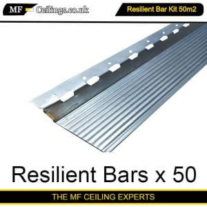 Resilient Bar Ceiling Kit 50m2
